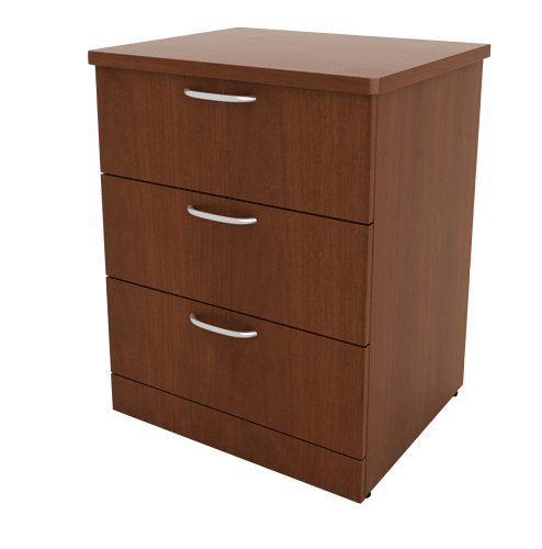 3 Drawer Bedside Table 100 Series