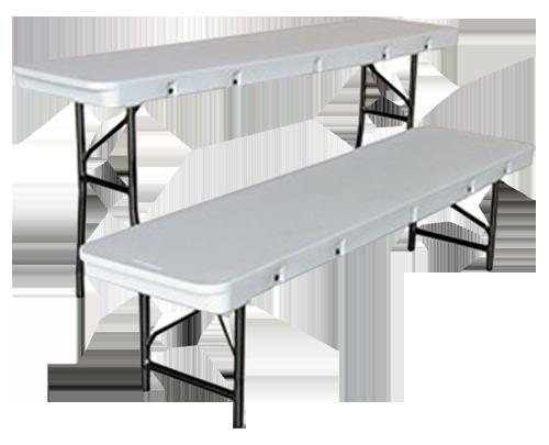 VS64 – Commercialite Folding Resin Bench