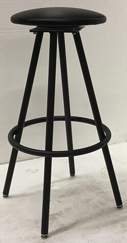 EB304 Tapered leg swivel stool