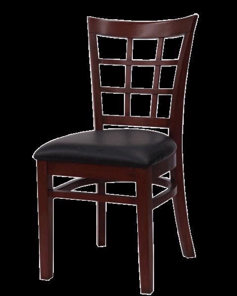 FD690 – Import Windowpane Wood Side Chair