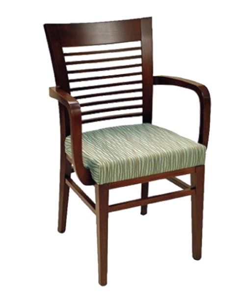 FD371 – London Wood Arm Chair
