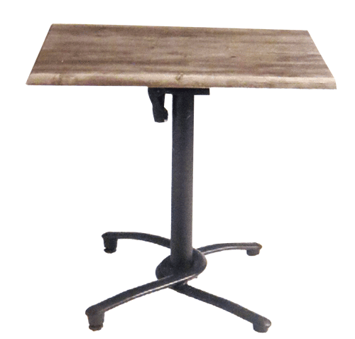 Aluminum Tilt Top Base