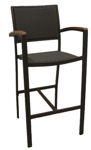 Aluminum / Wicker Chair SF290