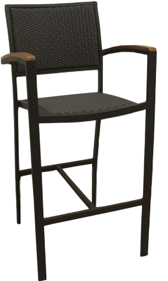 Wicker Aluminum Bar Stool SF290