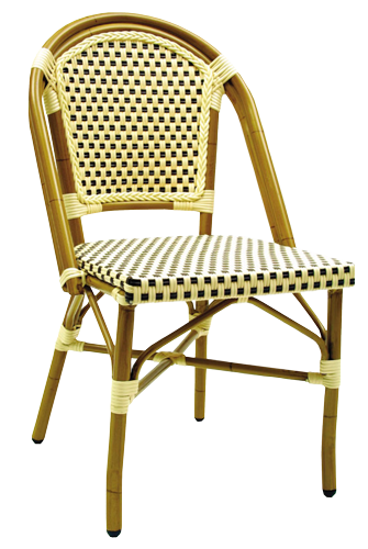 SF250 – Aluminum Wicker Side Chair
