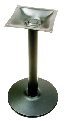 BM24 - Cast Round Pedestal Stand-Up Base