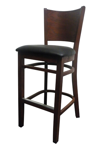 EB577 – Import Veneer Back Bar Stool