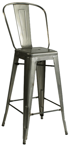 EB850 – Tolex Contemporary Bar Stool
