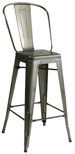 EB850 – Tolex Contemporary Bar Stool