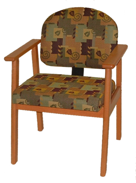 Flex Back Wood Dining Chair LH22