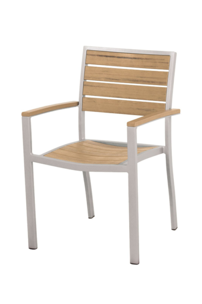 A200 – Stacking Euro Dining Arm Chair
