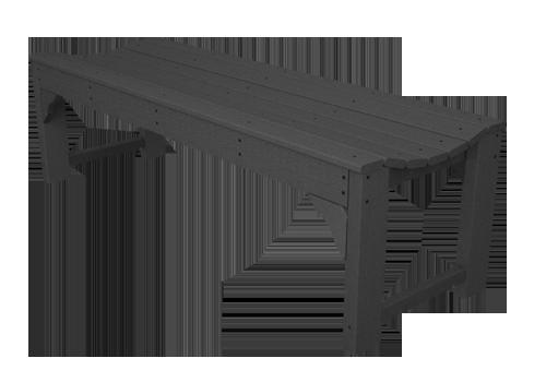 Resin Backless Bench BAB160