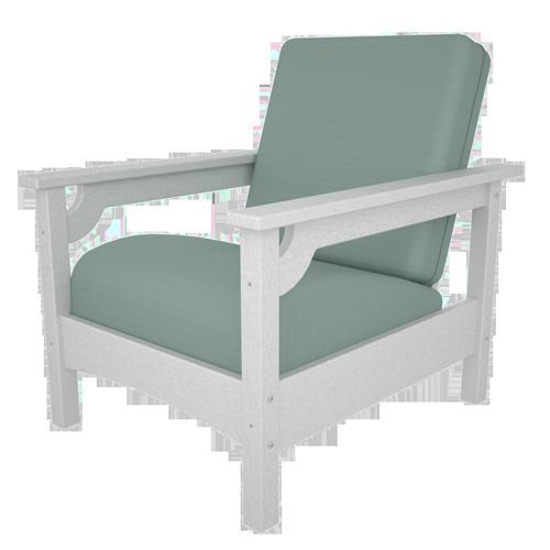 Resin Cushion Club Chair CLC23