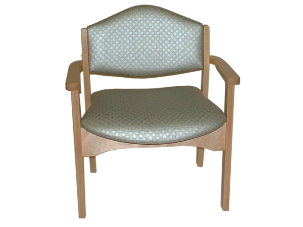 FD352 – Stacking Health Care Chair – Low Back Wide Frame
