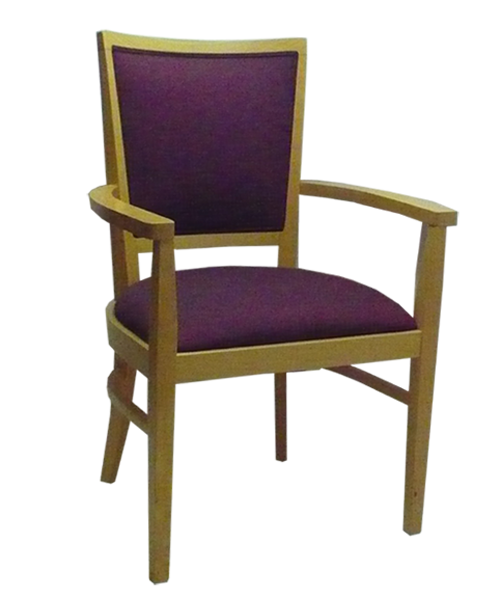 FD395 – Upholstered Back Dining Chair