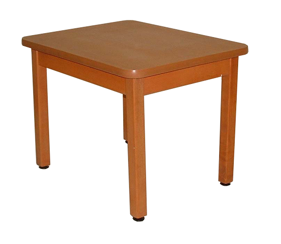 CW21HP – Wood Leg End Table